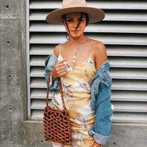 Amuse Society Papaya Midi Dress